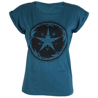 tee-shirt métal pour femmes Within Temptation - Burn Star Teal -, Within Temptation