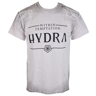t-shirt hommes Sin Temptation - Hydra A/O Texture - Ice Grey - ATMOSPHERE, NNM, Within Temptation