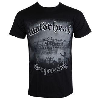 tee-shirt métal pour hommes Motörhead - Clean Your Clock B&W - ROCK OFF, ROCK OFF, Motörhead