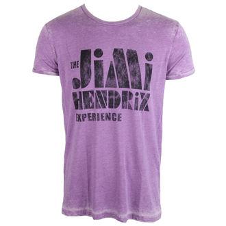 tee-shirt métal pour hommes Jimi Hendrix - Stencil Logo Vintage - ROCK OFF, ROCK OFF, Jimi Hendrix