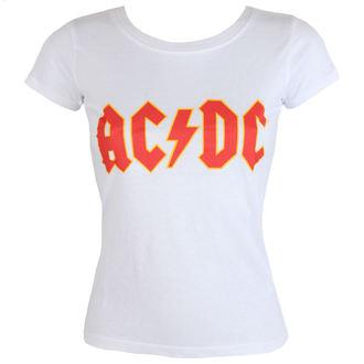 tee-shirt métal pour femmes AC-DC - Classic Logo - ROCK OFF, ROCK OFF, AC-DC