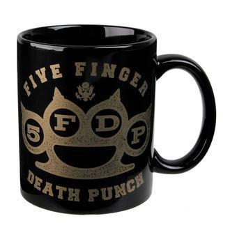 mug Five Finger Death Punch - Brass - ROCK OFF, ROCK OFF, Five Finger Death Punch
