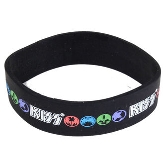 bracelet Kiss - Logo & Icons - ROCK OFF, ROCK OFF, Kiss