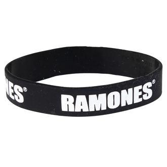 bracelet Ramones - Logo Gummy Band - ROCK OFF, ROCK OFF, Ramones