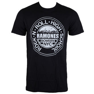 tee-shirt métal pour hommes Ramones - RNR Bowery - ROCK OFF, ROCK OFF, Ramones