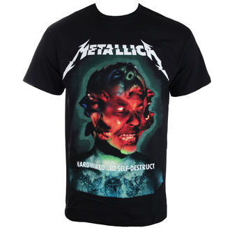 tee-shirt métal pour hommes Metallica - Hardwired Album Cover - NNM - RTMTLTSBHCO