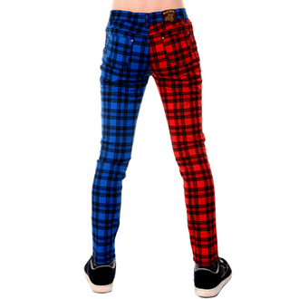 pantalon hommes 3RDAND56th - TARTAN SPLIT LEG, 3RDAND56th
