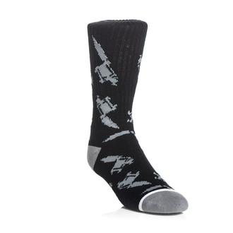 chaussettes SULLEN - Machined - Gris noir, SULLEN