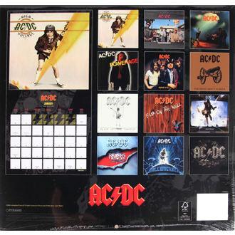 calendrier pour 2017 - AC/DC, AC-DC
