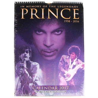calendrier pour 2017 - Prince, NNM
