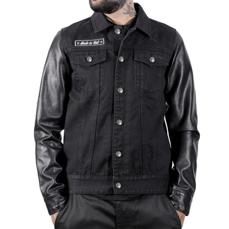 veste printemps / automne pour hommes - Made In Hell Noire - HYRAW, HYRAW