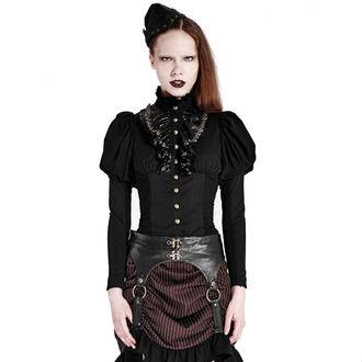 chemise pour femmes PUNK RAVE - Queen of hearts - Black, PUNK RAVE
