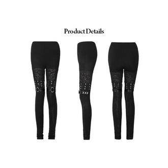 pantalon femmes (leggings) PUNK RAVE - Mantrap, PUNK RAVE