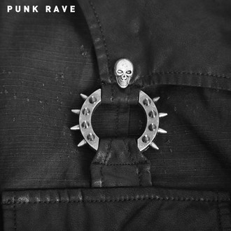 chemise hommes avec longue manche PUNK RAVE - Nostromo - Y-564_B