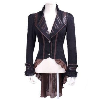 veste (veste de costume ) pour femmes PUNK RAVE - UMBRA - BROWN, PUNK RAVE