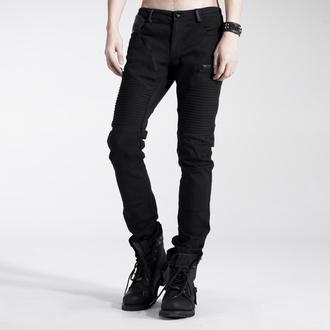 pantalon hommes PUNK RAVE - Black Engine, PUNK RAVE