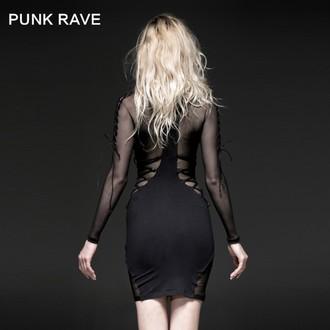 robe femmes PUNK RAVE - Fatal Kiss, PUNK RAVE