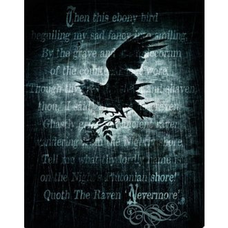 literie ALCHEMY GOTHIC - Alnevdd Nevermore, ALCHEMY GOTHIC