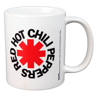 tasse RED HOT CHILI PEPPERS - LOGO - BIOWORLD, BIOWORLD, Red Hot Chili Peppers