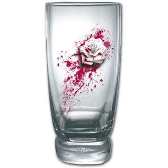 verre (ensemble 2ks) SPIRAL - BLOOD ROSE, SPIRAL