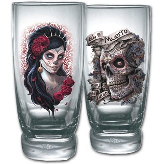 verre (ensemble 2ks) SPIRAL - DAY OF THE DEAD - K026A001