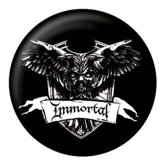 badge Immortal - Crest - NUCLEAR BLAST, NUCLEAR BLAST, Immortal