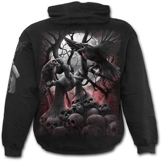sweat-shirt avec capuche pour hommes - DARK ROOTS - SPIRAL