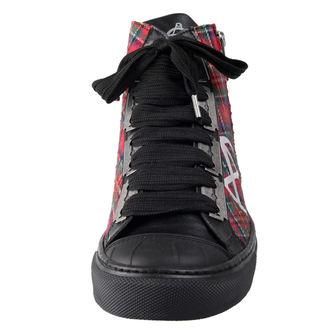 chaussures de tennis montantes pour femmes - ALCHEMY GOTHIC, ALCHEMY GOTHIC