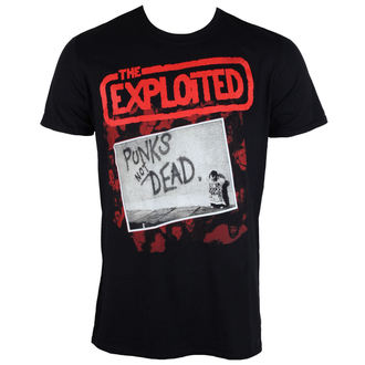 tee-shirt métal pour hommes Exploited - The Punks Not Dead - PLASTIC HEAD, PLASTIC HEAD, Exploited