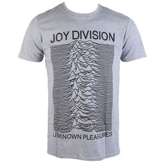 tee-shirt métal pour hommes Joy Division - Unknown Pleasures - PLASTIC HEAD, PLASTIC HEAD, Joy Division