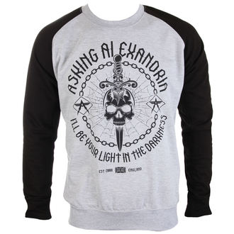 sweat-shirt sans capuche pour hommes Asking Alexandria - Light In The Darkness - PLASTIC HEAD, PLASTIC HEAD, Asking Alexandria