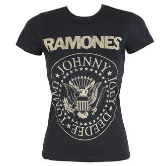 tee-shirt métal pour femmes Ramones - DISTRESS CREST - BRAVADO, BRAVADO, Ramones