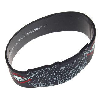 caoutchouc bracelet Black Veil Brides - High Voltage - PLASTIC HEAD, PLASTIC HEAD, Black Veil Brides