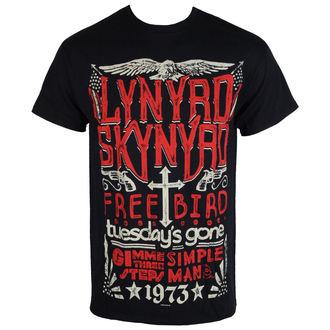 t-shirt métal hommes Lynyrd Skynyrd Freebird PLASTIC HEAD RTLS0127, PLASTIC HEAD, Lynyrd Skynyrd