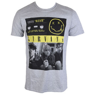 tee-shirt métal pour hommes Nirvana - Bleach Tape Photo - PLASTIC HEAD, PLASTIC HEAD, Nirvana