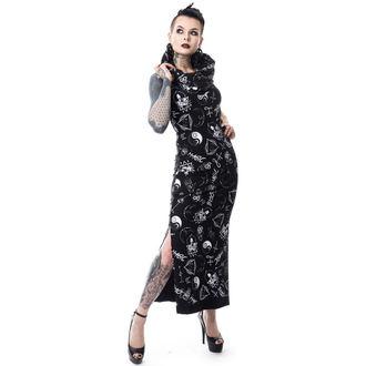 robe femmes HEARTLESS - BLACK MAGIC PENTAGRAM - NOIR, HEARTLESS
