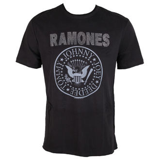 tee-shirt métal pour hommes Ramones - LOGO - AMPLIFIED