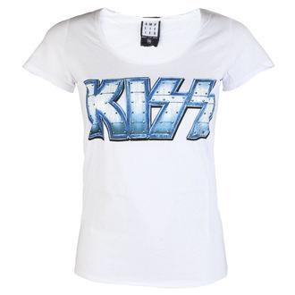 tee-shirt métal pour femmes Kiss - METAL DISTRESSED - AMPLIFIED, AMPLIFIED, Kiss