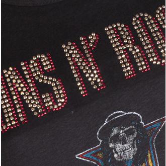 tee-shirt métal pour femmes Guns N' Roses - CLASSIC DIAMANTE - AMPLIFIED, AMPLIFIED, Guns N' Roses