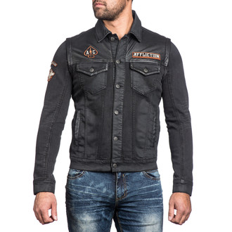 printemps automne veste hommes Bike Cutter AFFLICTION 110OW238-BK, AFFLICTION