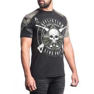 t-shirt hardcore pour hommes - Ace Lightning - AFFLICTION, AFFLICTION
