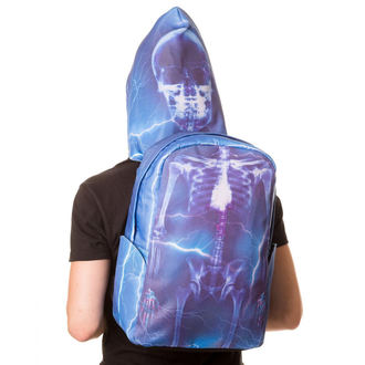 sac à dos BANNED - Blue Skeleton, BANNED