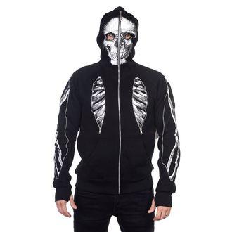 sweat-shirt avec capuche pour hommes - Skeleton Bone - BANNED, BANNED
