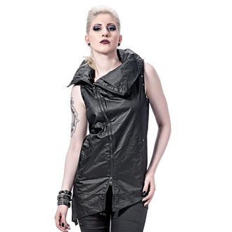 gilet pour femmes - Collar and Assymetric - QUEEN OF DARKNESS, QUEEN OF DARKNESS