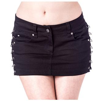 jupe pour femmes QUEEN OF DARKNESS - Black, QUEEN OF DARKNESS