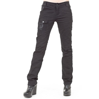 pantalon femmes (hiver) QUEEN OF DARKNESS - Black, QUEEN OF DARKNESS