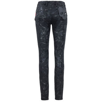 pantalon femmes QUEEN OF DARKNESS - skull, QUEEN OF DARKNESS