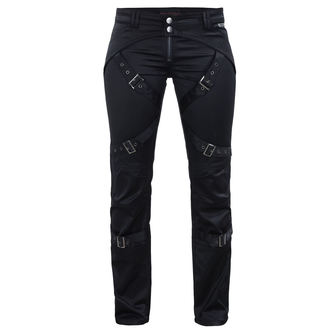 pantalon femmes QUEEN OF DARKNESS - Black, QUEEN OF DARKNESS