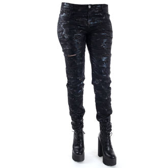 pantalon femmes QUEEN OF DARKNESS - Cracks, QUEEN OF DARKNESS