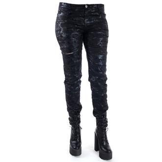 pantalon femmes QUEEN OF DARKNESS - Cracks, QUEEN OF DARKNESS